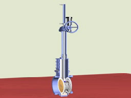 FABRICATED DOUBLE DISC GATE VALVE